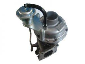 Engine turbocharging